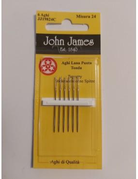 JOHN JAMES AGHI LANA PUNTA...