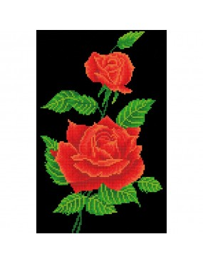 RED ROSE CORSAGE ROSA...
