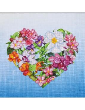 FLOWER HEART CUORE DIAMOND...